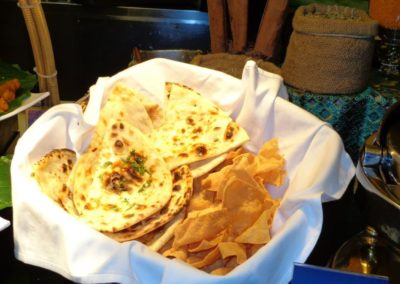 Food Gallery - Tandoori Roti and papad-Dana Mandi Indian Restaurant-Prince George (1)