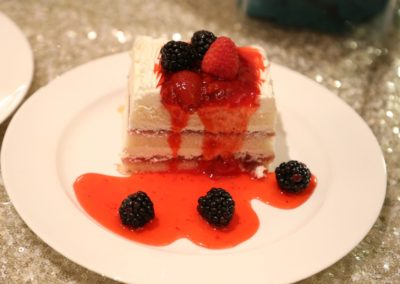 Food Gallery - White Pastry with black & red berries Dana Mandi Indian Restaurant-Prince George (69)